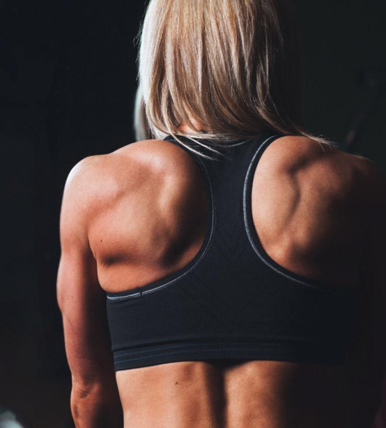 kracht of spiermassa