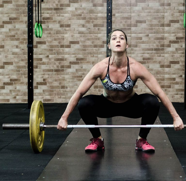 Strong abs helps with succesfull compound training