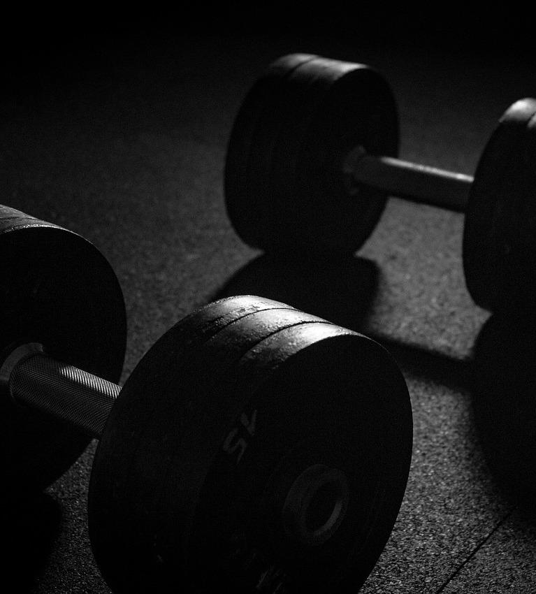 trainen met losse gewichten